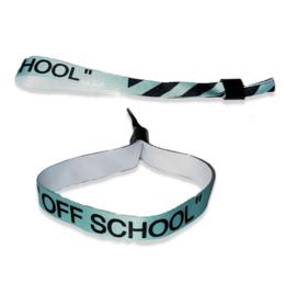Abschluss Stoffarmband für jeden Schüler (GRATIS)*